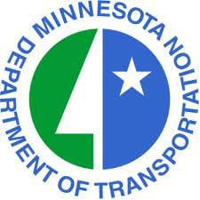 Minnesota Department of Transportation green and blue logo