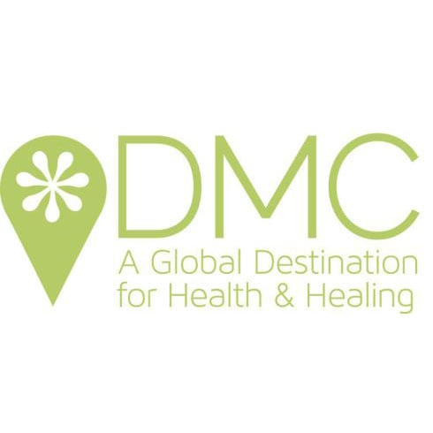 logo for DMC - A Global Destination for Health and Healing