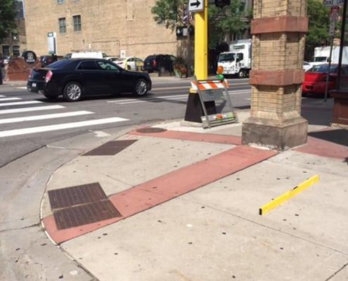 City of Minneapolis corner of 4th Street